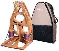 Ashford Joy-2 Spinning Wheel With Carry Bag - Single Treadle / Clear Finish