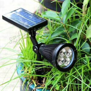 4LED Solar Power PIR Motion Sensor Garden Wall Mounted Street Light Outdoor Lamp
