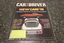 CAR AND DRIVER NEW CARS '79 OCTOBER 1977 VOL.23 #4 9248-1 [LOC.ELK] (BOX B) #229
