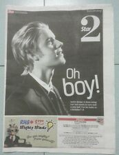 Justin Bieber TheStar Collectible VERY RARE Newspaper Believe Purpose My World