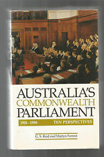 ACTS OF PARLIAMENT by Souter AUSTRALIA'S COMMONWEALTH PARLIAMENT by Reid 2 BOOKS