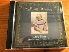 Telling Stories CD Fred Haas   Gene Bertoncini   Michael Moore  CD Jazz Toons