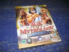 Age of Mythology Gold Edition Hauptspiel inkl Titans Erweiterung  PC BIG BOX