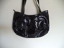 "Women's Handbag. attention. Clutch. Black. 14 X 8 X 4. Skin ( Leather ). 12"""