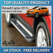 RENAULT CAPTUR 2013+ ALUMINIUM SHERWOOD STYLISH SIDE STEP BARS RUNNING BOARDS