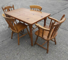 Pine Rectangle Country Up to 4 Seats Kitchen & Dining Tables