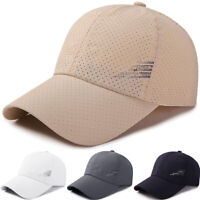 Men Women Baseball Ball Cap Hat Summer Sports Golf Sun Hats Adjustable Snapback
