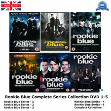 ROOKIE BLUE 1-5 COMPLETE SERIES COLLECTION 1 2 3 4 5 BRAND NEW & UK REGION 2 DVD