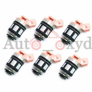 6xFuel Injectors For Nissan D21 Pathfinder Quest 3.0L VG30E 16600-88G10 JS20-1