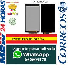 Pantalla Completa para Sony Xperia Z1 L39H Negra Tactil + LCD Negro