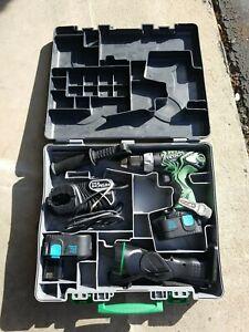 Hitachi  Battery Drill Set in Box