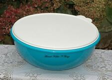 TUPPERWARE FIX N MIX BOWL IN COOL AQUA