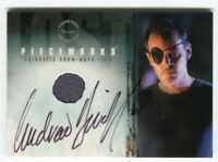Lost Season 3 Three - PWA-1 Andrew Divoff Autograph Piecework Costume Card