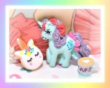 ❤️My Little Pony G1 Merchandise VTG FRENCH / DUTCH Sparkler Pin Badge Merch❤️