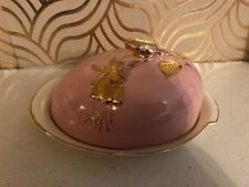 Rare Royal Winton Old Fort Henry Canada Butter/ Cheese Dish