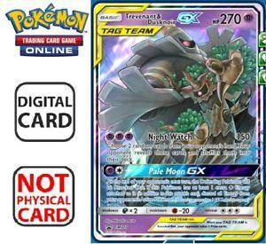 Trevenant & Dusknoir GX Ultra Rare Pokemon TCG Online Digital Card SM Promo 217
