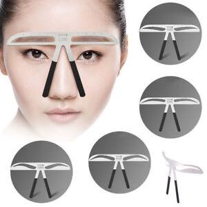 Makeup Tool 3D Balance Template Stencil Shaper Beauty Tattoo Eyebrows Ruler IN9