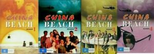 China Beach Seasons 1-4 DVD Complete Set Brand New and Sealed Plays Worldwide