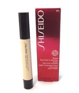Shiseido Sheer Eye Zone Corrector All Day ~ Natural 103 ~ .14 oz BNIB
