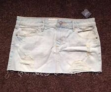 Abercrombie & Fitch Denim Short/Mini Skirts for Women