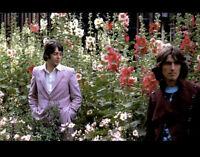 "The Beatles Paul McCartney George Harrison Photo Print 11x8.5"""
