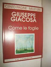 GIACOSA-COME LE FOGLIE-LE COMETE 1994