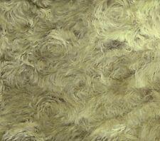 Schulte Batik-Mohair gewirbelt, dicht - Farbe pistazie - Rücken braun - 25x47cm