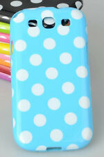 Samsung Galaxy S3 Polka Dot Case / Cover  - Blue