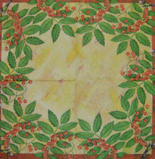 Papier serviettes de table rowan tree for craft vintage chromos decoupis tea parties 145