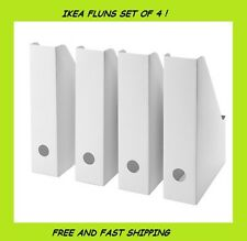 Ikea Fluns Magazine Files 4 (Pack) Free Shipping !