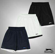 Boys Slazenger Active Fit Tennis Court Shorts Bottoms Sizes Age 7-13 Yrs