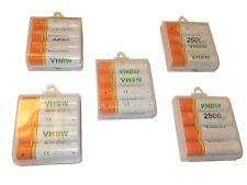 vhbw Longlife Akku 2500mAh Ready 2 Use 20er Pack AA Mignon HR6 LR6