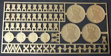 Warhammer 40,000 Imperial Fists Space Marine Chapter & Squad Symbols Brass Etch