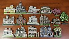 Shelia's Wood House, Cottage, Mansion, Home, Tree, Favorite Places Lot of 16 Pcs
