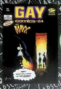 Gay Comics Comix #24 1997 Kitchen Sink Press Maxx Appearance Rare Sam Kieth Art