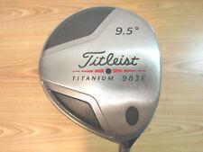 TITLEIST 983E TITANIUM 9.5 DRIVER HTD CB70 X-FLEX