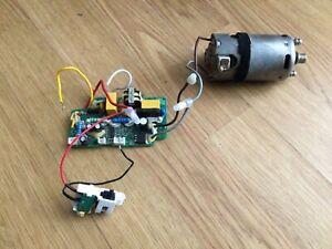 Shark  NV801-UKT-40 Vacuum Cleaner Part = Power Nozzle Brushroll Motor + PCB