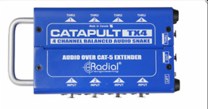 Radial Catapult TX4 4ch transmitter, with balanced i/o  BEST OFFER R067