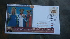 2004 KELLIE HOLMES ATHENS OLYMPIC GOLD MEDAL WIN SOUVENIR COVER 1