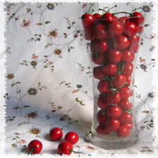 New 20pcs Mini Artificial Fake Plastic Cherry Food Party Decorative Decor 3057