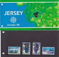 Presentazione In Jersey Confezione Da 1988 EUROPA Transport & communication 10% di sconto eventuali 5+