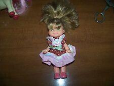 "Vintage 1989 Mattel Cherry Merry Muffin Chocolottie Chocolate Cupcake 6.5"" Doll"