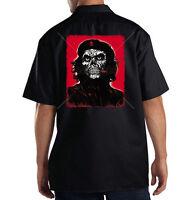 Dickies Mechanic Work Shirt Che Guevara Revolution Skull