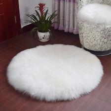 Soft Sheepskin Rug Chair Cover Artificial Wool Warm Hairy Carpet Bedroom Mat