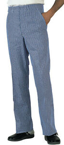 SALE! Dennys Black Check Jean Style Chef Trousers DC03Z NEW Size 3XL