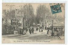 84 AVIGNON , ENTREE DE LA VILLE , COURS DE LA REPUBLIQUE