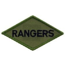 "NORTHERN SAFARI™  Army Ranger, Subdued, Iron On Patch-Approx. 2.25""H x 3.75""W"