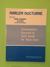 Harlem nocturne, by EARL HAGEN, Big Band Arrangement