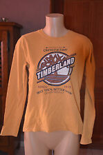 TIMBERLAND - Très joli tee-shirt manches longues Taille 14 ans EXCELLENT ÉTAT