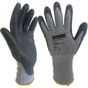 Safety Gloves - Cut Level 5 Protective Gloves - Conforms to EN388 (4543) Metal